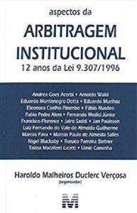 Imagem - Aspectos da arbitragem institucional - 12 Anos da lei 9.307/1996