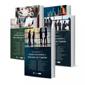 Imagem - Atualidades em Direito Societário e Mercado de Capitais - 5 Volumes