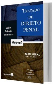 Imagem - Tratado de Direito Penal - Parte Geral - V. 1