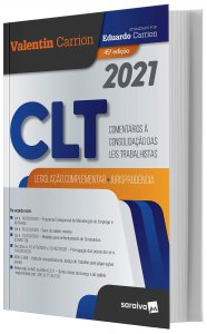 Imagem - CLT - Comentários à Consolidação das Leis Trabalhistas 2021