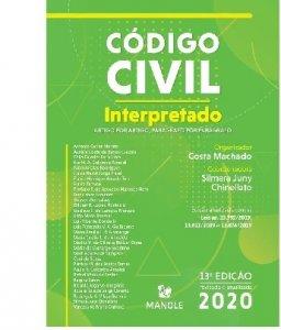 Imagem - Código Civil Interpretado - Artigo por Artigo, Parágrafo por Parágrafo