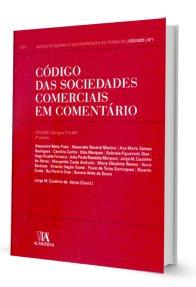 Imagem - Código das Sociedades Comerciais em Comentário - 1ª Vol.