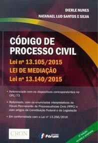 Imagem - Código de Processo Civil Lei Nº 13.105/2015