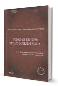 Imagem - Código de Processo Civil do Distrito Federal