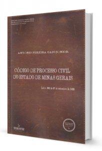 Imagem - Código de Processo Civil do Estado de Minas Gerais