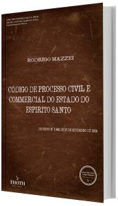 Imagem - Código de Processo Civil e Commercial do Estado do Espirito Santo