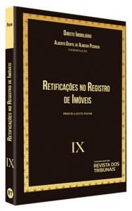 Imagem - Coleção Direito Imobiliário - Volume IX: Retificação no Registro de Imóveis