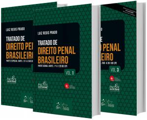 Imagem - Coleção Tratado de Direito Penal Brasileiro - 3 volumes