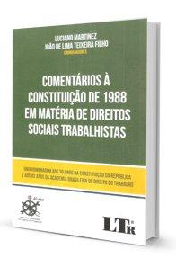 Imagem - Comentários a Constituição de 1988 em Matéria de Direito Sociais Trabalhistas
