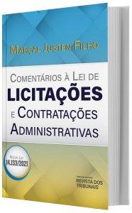 Imagem - Pré venda - Comentários à Lei de Licitações e