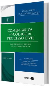 Imagem - Comentários Ao Código De Processo Civil - da Intervenção De Terceiros Até da Defensoria Pública - V. 3