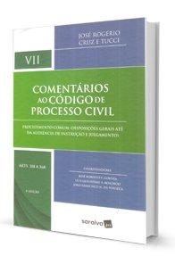 Imagem - Comentários Ao código de Processo Civil - Vol VII