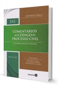 Imagem - Comentários ao Código de Processo Civil - Volume XVI