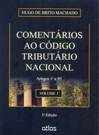 Imagem - Comentários Ao código Tributário Nacional Volume I