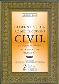 Imagem - Comentários Ao Novo código Civil - V. XIV (Arts. 966 a 1.195)