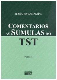 Imagem - Comentários as súmulas do Tst