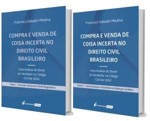Imagem - Compra e Venda de Coisa Incerta no Direito Civil Brasileiro - Tomos I e II