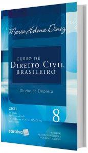 Imagem - Curso de Direito Civil Brasileiro - Direito de Empresa V. 8