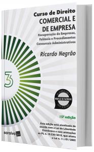 Imagem - Curso de Direito Comercial e de Empresa - V. 3