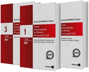Imagem - Curso Sistematizado de Direito Processual Civil - 3 Volumes
