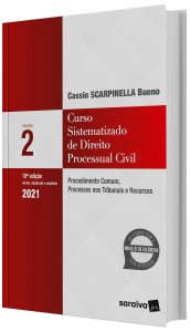 Imagem - Curso Sistematizado de Direito Processual Civil - Procedimento Comum, Processos nos Tribunais e Recursos V. 2