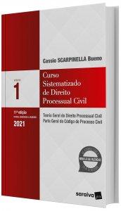 Imagem - Curso Sistematizado de Direito Processual - Teoria Geral do Direito Processual Civil, Parte Geral do Código de Processo Civil V. 1