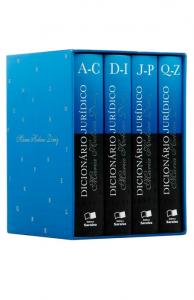 Imagem - Dicionário jurídico - 4 volumes - 3ª Edição