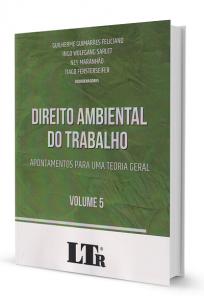 Imagem - Direito Ambiental do Trabalho Vol. 5