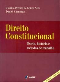 Imagem - Direito Constitucional Teoria, História e métodos de Trabalho