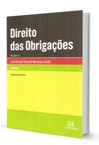 Imagem - Direito das Obrigações - V. III