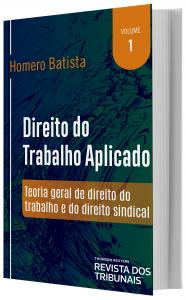 Imagem - Direito do Trabalho Aplicado - volume 1
