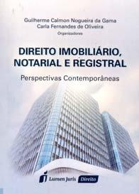 Imagem - Direito Imobiliário, Notarial e Registral Perspectivas Contemporâneas