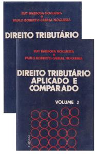 Imagem - Direito Tributário Aplicado e Comparado 2v.