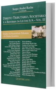 Imagem - Direito Tributário Societário E A Reforma Da Lei Das S/A  – V  3