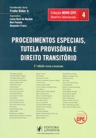 Imagem - Doutrina Selecionada. Procedimentos Especiais. Tutela Provisória e Direito Transitório - Coleção Novo CPC. Volume 4