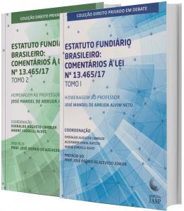 Imagem - Estatuto fundiário brasileiro Tomos I e II