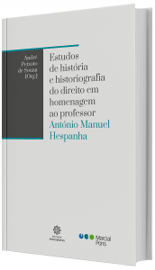 Imagem - Estudos de História e Historiografia do Direito em homenagem ao professor António Manuel Hespanha