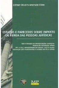 Imagem - Estudos e Pareceres Sobre Imposto de Renda das Pessoas Jurídicas