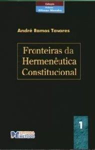 Imagem - Fronteiras da Hermenêutica Constitucional