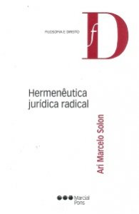 Imagem - Hermenêutica Jurídica Radical