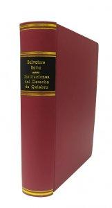 Imagem - Instituciones del Derecho de Quiebra