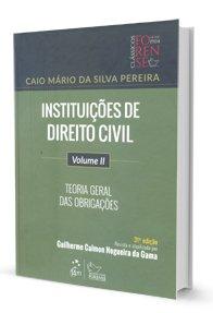 Imagem - Instituições de Direito Civil V. II - Teoria Geral das Obrigações