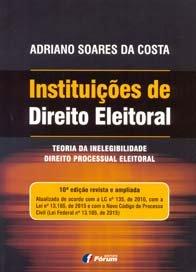 Imagem - Instituições de Direito Eleitoral Volume 1