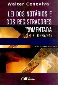 Imagem - Lei dos Notários e dos Registradores Comentada