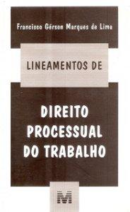 Imagem - Lineamentos de Direito Processual do Trabalho
