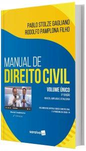 Imagem - Manual de Direito Civil Volume Único