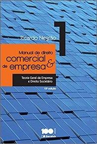 Imagem - Manual de Direito Comercial e de Empresa - V. 1