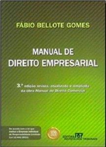Imagem - Manual de Direito Empresarial