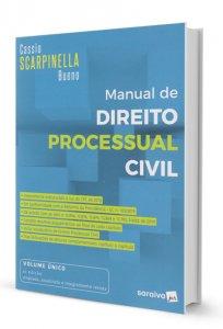 Imagem - Manual de Direito Processual Civil
