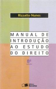 Imagem - Manual de Introdução Ao Estudo do Direito